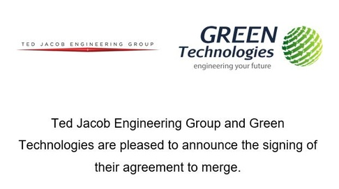 Ted Jacob Engineering Group welcomes Green Technologies FZCO